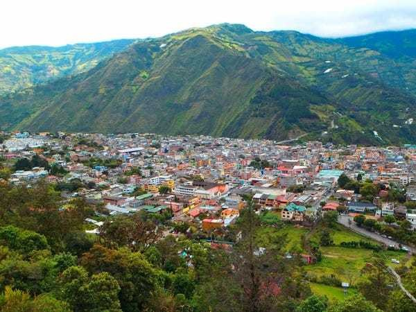 Travel photos from Ecuador backpacking trip - Business Insider