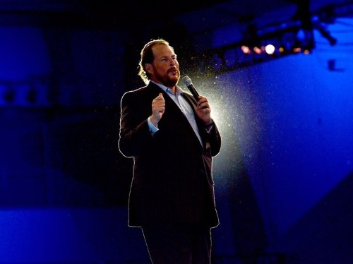 Salesforce — not a VC firm — is now the top investor in one of the hottest tech industries