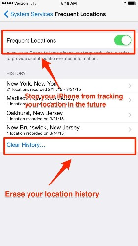 Use this trick to see a map of everywhere your iPhone knows you've been