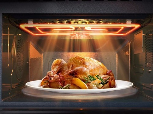 One of the year's best kitchen gadgets is a professional oven the size of a microwave