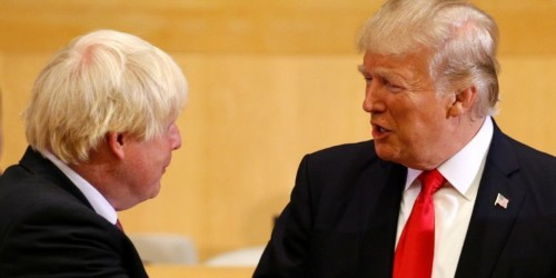 Donald Trump says Boris Johnson will 'straighten' out Brexit after May