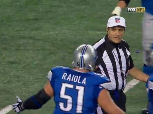 NFL Ref Explains Why Lions-Cowboys Penalty Call Was Mysteriously Reversed