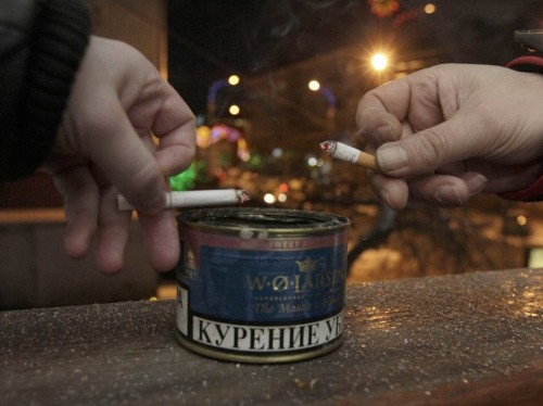 Russia's recession is so bad it's changing people's smoking habits