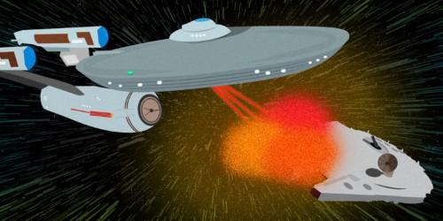 10 reasons 'Star Trek' is better than 'Star Wars'