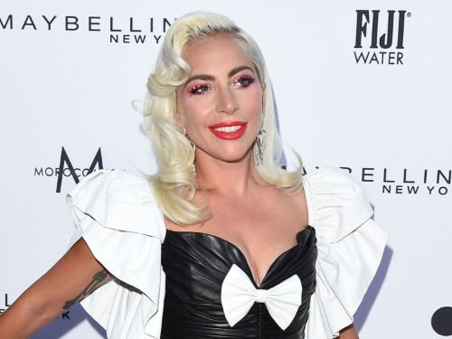 Lady Gaga's $11,265 leather outfit put an edgy twist on her red-carpet style