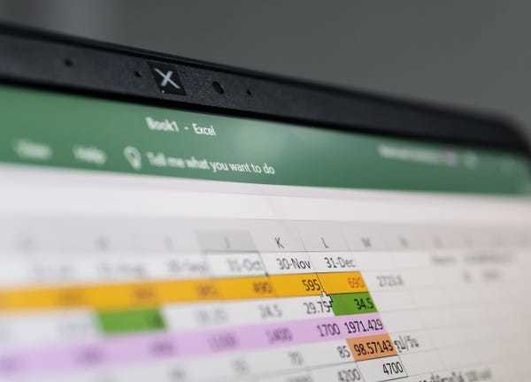 How to copy a formula in Microsoft Excel using a Mac or PC - Business Insider