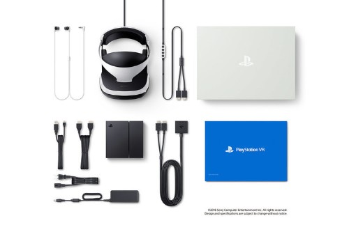 The new PlayStation VR comes with an adorable miniature PlayStation 4