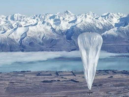 Google Secretive X Lab Launches Internet-Beaming Balloons