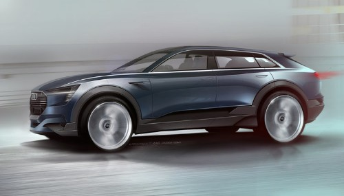 This new SUV shows how car companies can't compete against Tesla