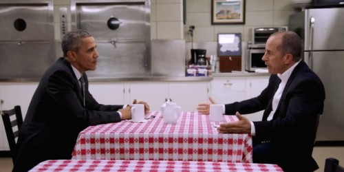 President Obama is laugh-out-loud funny on Jerry Seinfeld's web show about cars and coffee