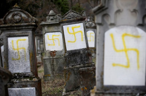 French politicians respond after 96 graves desecrated in Jewish cemetery in France