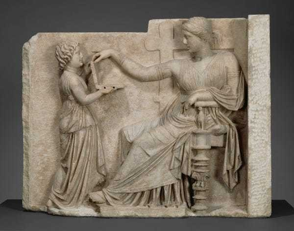 Ancient Greek sculpture hides laptop conspiracy - Business Insider