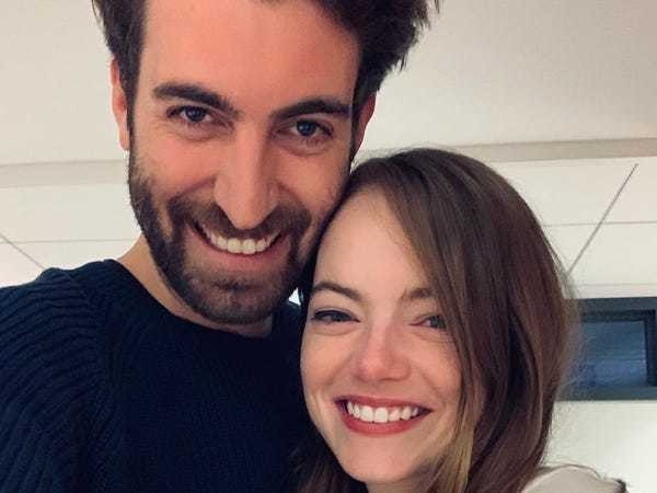 Emma Stone announces engagement to 'SNL' writer Dave McCary - Business Insider