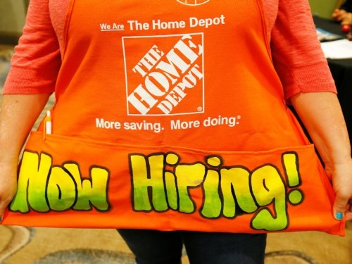 Home Depot is embarking on a massive hiring spree as retail's war for talent rages on