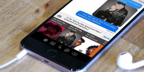 Here's a great way for iPhone users to send music to their friends