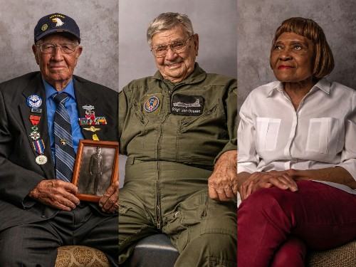 A photographer captures powerful portraits of World War II veterans to honor their stories - Business Insider