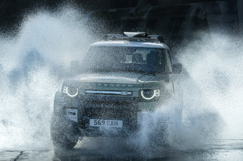 Land Rover just unveiled its long-awaited new Defender SUV. Take a closer look at this redesigned legend.