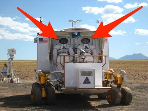 I drove the 6,600-lb 'car' that NASA designed for astronauts on Mars, and I'll never see space exploration the same way again