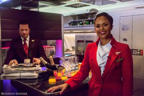 A frequent flier reveals the 2 words that will always get you an upgrade to first class