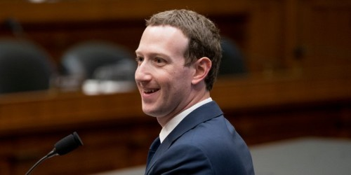 Mark Zuckerberg is privately schmoozing with some of Facebook's biggest critics in Washington