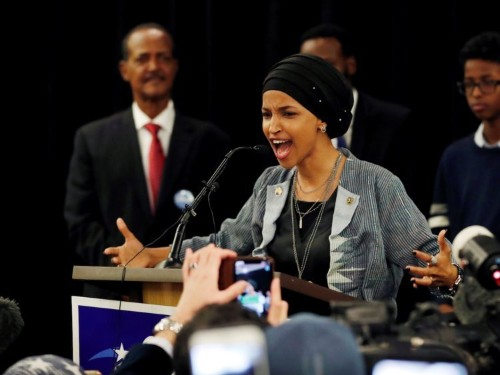 Rep. Ilhan Omar responds to 'send her back' chant with Maya Angelou poem