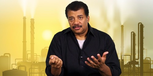 Neil deGrasse Tyson explains the real problem with climate skeptics