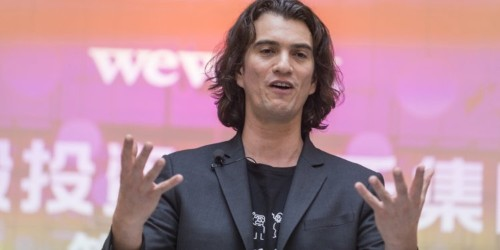 WeWork return to junk bonds isn't working amid IPO valuation fears