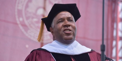 Morehouse commencement speaker reveals he'll pay off Class of 2019 loans