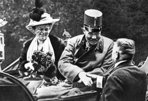 Here's the event that triggered World War I