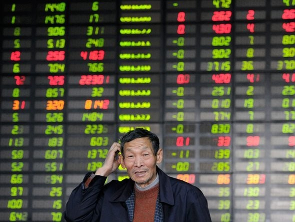 Chinese Stocks Rise After Q2 GDP Comes In Line With Expectations