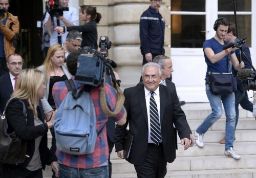Ex-IMF chief Strauss-Kahn goes on trial for 'pimping'