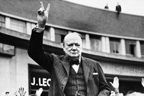 Britain marks 50th anniversary of Churchill's death