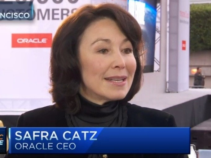 Oracle CEO Safra Catz advises 'don't eat dog food'