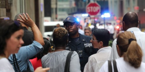 New York subway station evacuated after pressure cooker bomb scare