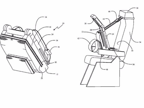 Boeing just patented a bizarre 'cuddle chair' that could revolutionize how we sleep on airplanes