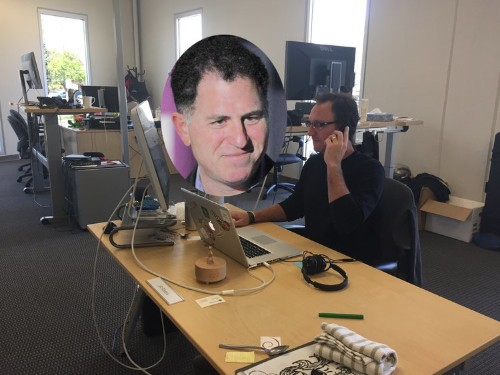 How a surprise LinkedIn message from Michael Dell caused this startup to threaten Cisco