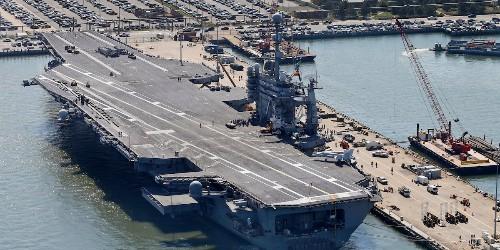 Half the US Navy's aircraft carrier fleet can't deploy - Business Insider