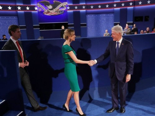 The Clinton campaign reportedly asked for one major change for the final debate — and it's because of Donald Trump