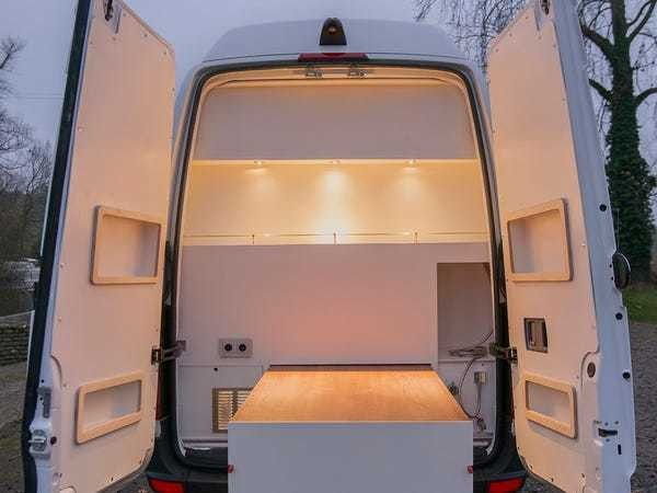 'Culinatour' tiny home and kitchen built in a Mercedes-Benz Sprinter - Business Insider
