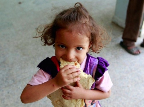 Devastating conflict has left 30 million people in the Middle East unsure of their next meal