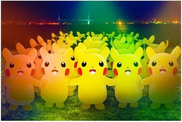 A wild pack of Pikachus has taken over a Japanese neighborhood for a week-long Pokémon celebration