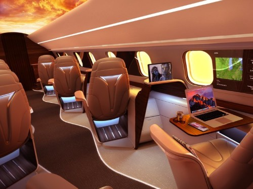 This private airline will basically let you fly first class for the price of an economy ticket