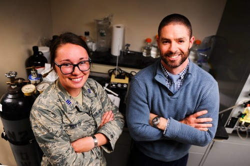 An Air Force Academy cadet created a bullet-stopping goo to use for body armor