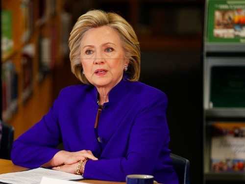 Hillary Clinton wants to reward companies that share profits with employees