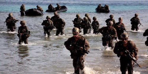The US is considering sending heavily armed Marines to Asia to counter China