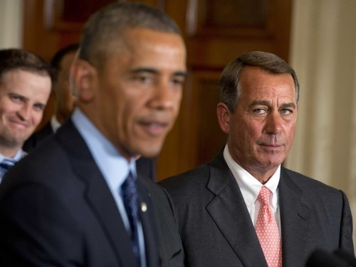 BOEHNER: I'm 'Happy' To Bring Congress Back For War Vote If Obama Asks