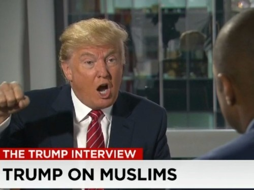 TRUMP: 'I am the least racist person that you have ever met'