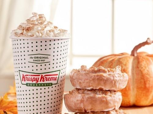 Krispy Kreme is bringing back its fan-favorite pumpkin spice cake doughnut just in time for fall