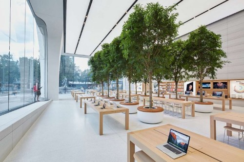Big, beautiful photos of the first Apple Store created by Apple's design boss Jony Ive