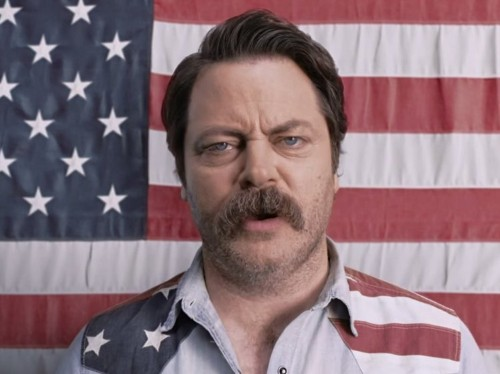 18,000 people with Celiac disease are angry at Nick Offerman's NASCAR commercial